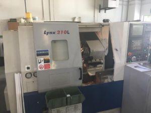 Daewoo Lynx 210L CNC Lathe