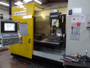 Used CB FERRARI A186 5 axis machining center - Makinate