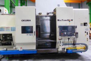 Makinate | Used OKUMA MACTURN 30W CNC multitasking lathe