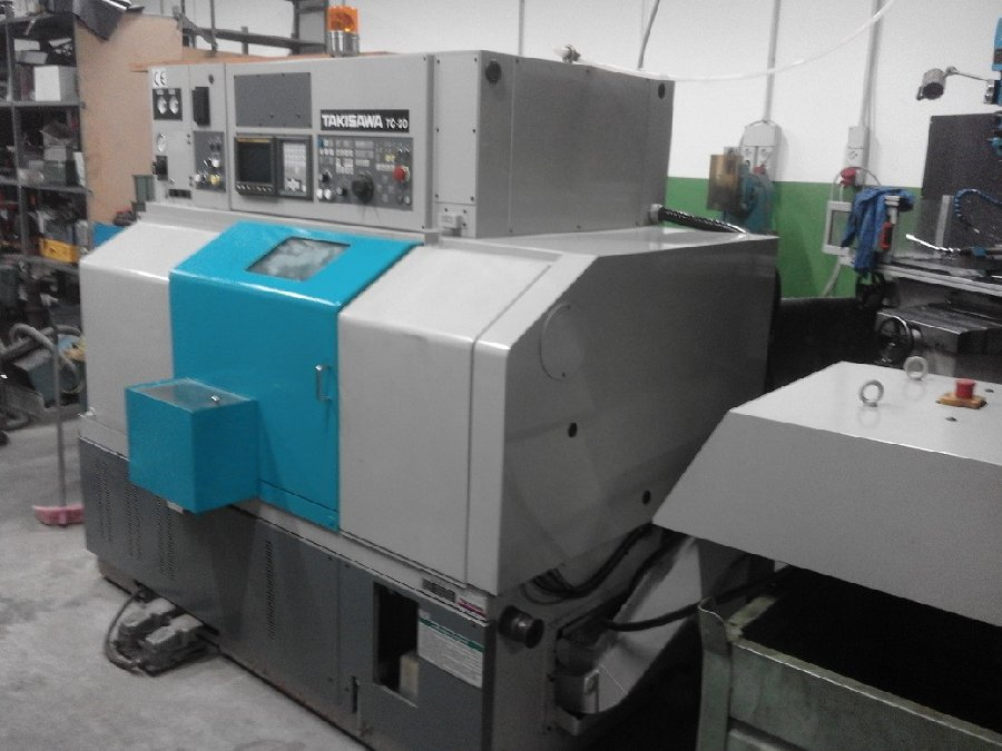 Takisawa TC 20 |Makinate | Makinews !Used industrial machines