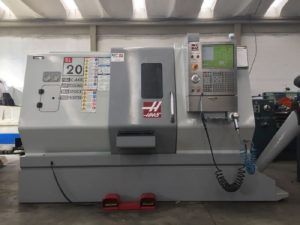 Makinate | Used HAAS SL20 Lathe with live tooling M1701119235 1