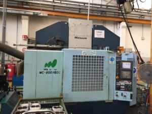 Makinate | Used Matsuura MC 800 VFDC 5 axis machining center M1701718785 1