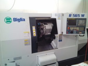 Makinate   Used Biglia B565 M Lathe with live tooling 1